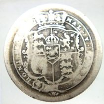 1817 shilling of George III. P&P Group 1 (£14+VAT for the first lot and £1+VAT for subsequent lots)