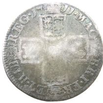 1711 milled Shilling of Queen Anne. P&P Group 1 (£14+VAT for the first lot and £1+VAT for subsequent