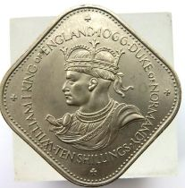 1066-1966 Guernsey 10 shillings. P&P Group 1 (£14+VAT for the first lot and £1+VAT for subsequent