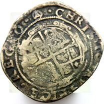 1640 hammered silver half crown of Charles I. P&P Group 1 (£14+VAT for the first lot and £1+VAT