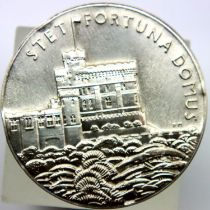 1935 silver medal - Stet Fortuna. P&P Group 1 (£14+VAT for the first lot and £1+VAT for subsequent