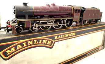Mainline Jubilee Class Leander 5690, LMS, Crimson in very good to excellent condition, requires