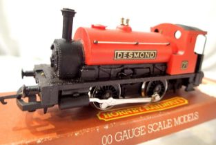 Hornby R779 040 Tank Loco Desmond, Red 7, in excellent condition, box good. P&P Group 1 (£14+VAT for