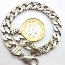 925 silver bracelet, L: 20 cm. P&P Group 1 (£14+VAT for the first lot and £1+VAT for subsequent