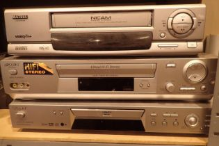 Matsui video player, a Sony 6 Head video player and a Sony DVD player. Not available for in-house