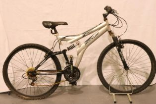 Dunlop special edition MTB 19 inch frame full suspension 18 speed. Not available for in-house P&P,