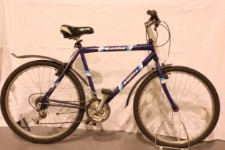 Alpine Quake 18 speed gents trail bike. Not available for in-house P&P, contact Paul O'Hea at