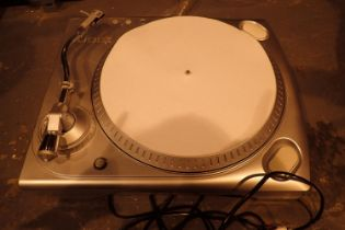 Ion ITT USB belt driven turntable with leads. Not available for in-house P&P, contact Paul O'Hea