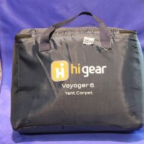 Hi-Gear Voyager 6 tent carpet carrier. Not available for in-house P&P, contact Paul O'Hea at