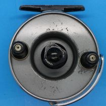 J.W Young Windex 4 inch fly fishing reel. P&P Group 2 (£18+VAT for the first lot and £3+VAT for