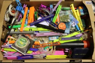 Box of mixed fishing tackle including, floats etc. P&P Group 3 (£25+VAT for the first lot and £5+VAT