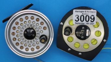 Two Daiwa fly fishing reels models SF706 and 731. P&P Group 2 (£18+VAT for the first lot and £3+
