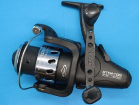 Boxed Fox Stratos FS 700 fishing reel. P&P Group 2 (£18+VAT for the first lot and £3+VAT for