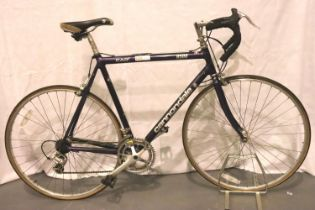 Cannondale men's racing bike. Not available for in-house P&P, contact Paul O'Hea at Mailboxes on