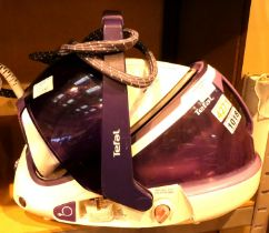 Tefal iron with large reservoir. Not available for in-house P&P, contact Paul O'Hea at Mailboxes