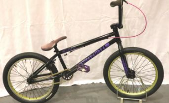 Refurbished We The People Justice BMX bike, new graphics, paint, cables etc. Not available for in-