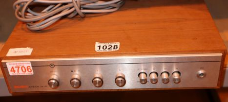 Bush Arena hi fi amplifier unit. Not available for in-house P&P, contact Paul O'Hea at Mailboxes
