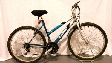 Magna Sahara 15 gear girls trial bike, 18 inch frame. Not available for in-house P&P, contact Paul