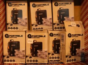 Box of 10 portable cassette players, walkman style. P&P Group 1 (£14+VAT for the first lot and £1+