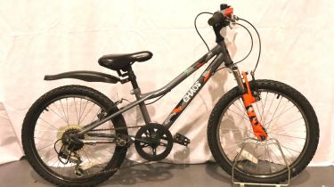 Boys Apollo Chaos 5 gear bike, 10 inch frame. Not available for in-house P&P, contact Paul O'Hea