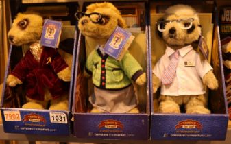 Compare The Meerkat boxed soft toys and a Jenga Ultimate set. Not available for in-house P&P,