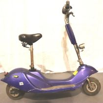 Sunrise E280 electric scooter, lacking charger. Not available for in-house P&P, contact Paul O'Hea