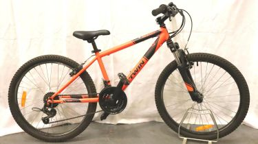 Rockrider childs bicycle. Not available for in-house P&P, contact Paul O'Hea at Mailboxes on 01925