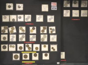 Coins of communist Europe, including examples from Bulgaria, Romania, Hungary, Czechoslovakia,