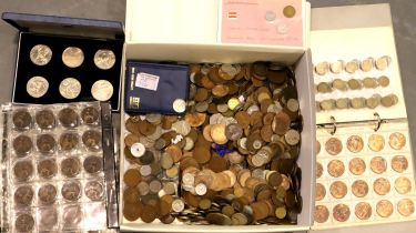 A very large collection of predominantly British 19th and 20th century coinage. Not available for