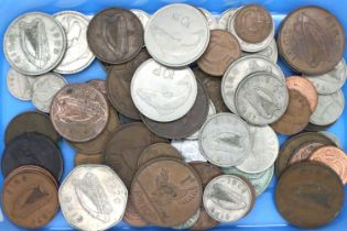 A small collection of Irish 20th century coinage, most 1960s-70s. P&P Group 1 (£14+VAT for the first