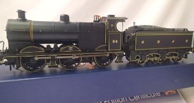 Bachmann 31-880K, Class 4F S.D.J.R Blue, no 58, in very near mint condition, boxed, collectors