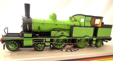 Oxford Rail OR76 AR003, Adams Radial tank, Southern Green, 488 in very near mint condition, boxed.