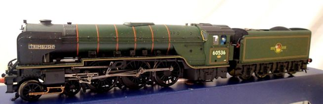 Bachmann A2 Class 60536 Trimbush rename/number, Zimo fitted no. 3, in fair to good condition,