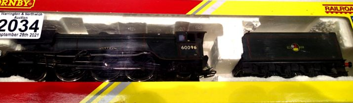 Hornby 60096 Papyrus rename/number/crest, Green, Late Crest, in good condition, fitted detail