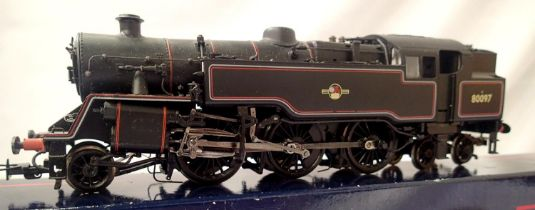 Bachmann Standard Class 4MT, 80097, BR Black, Late Crest, in very good to excellent condition. P&P