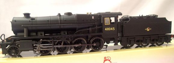 Hornby 8F, renumbered 48045, detail added, in good to very good condition, part boxed. P&P Group