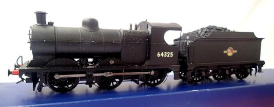 Bachmann 31-320 DC, Class J11 64325, BR Black, Late Crest, DCC fitted no. 25, part boxed. P&P