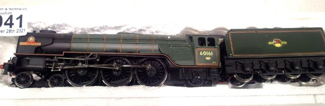 Hornby rename 60161 North British, BR Green, Late Crest, detail fitted, DCC fitted no. 01,