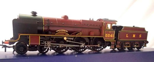 Bachmann 31-212 Patriot Class 5541, Duke of Sutherland, LMS Crimson, in excellent condition, loco