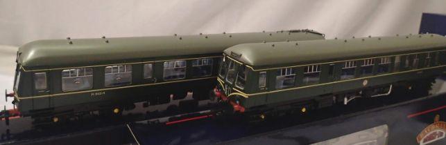 Bachmann 32-900A Class 108 2 car DMU Green, Speed Whiskers, Liverpool/Warrington, destination
