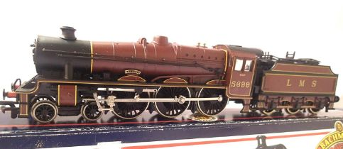 Bachmann 31-155, Jubilee Class, Galatea, LMS Red 5699, in excellent to very near mint condition,