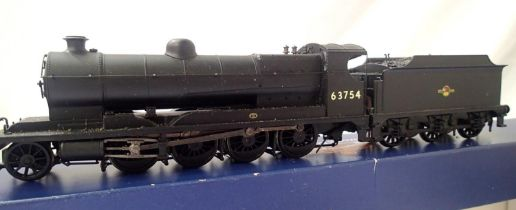 Bachmann Class Robinson 04, renumber 63754, BR Black, Late Crest, in very good condition, detail