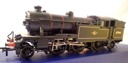 Bachmann 21-614 Class V3 Tank, 67646, BR Black, Late Crest, detail fitted, DCC fitted no. 6, in very