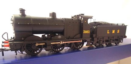 Bachmann 31-880 Class 44/LMS Black, 3851 in very near mint condition, boxed. P&P Group 1 (£14+VAT