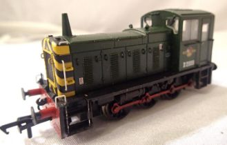 Bachmann 0.6.0. Diesel, BR Green, D2009, DCC fitted no. 9, in very good to excellent condition,
