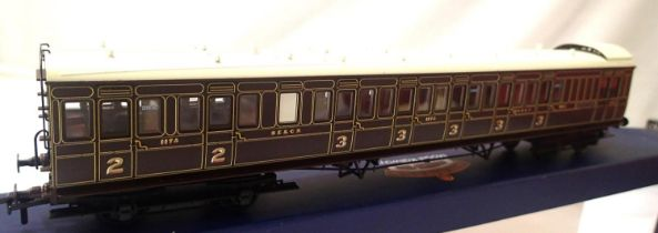 Bachmann 39-600, Birdcage Stock, SE and CR, Brake composite Lavatory coach, in very near mint