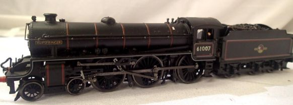 Bachmann rename/number, 61007, Klipspringer BR Black Late Crest, in very good condition, detail