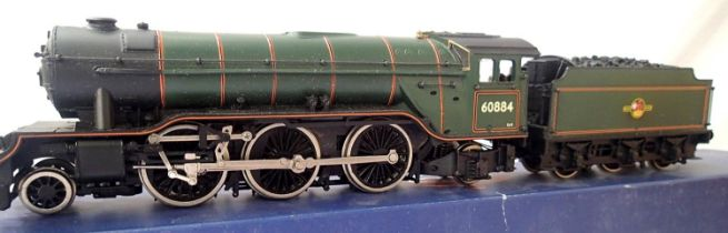 Bachmann renumber/crest 60884, Late Crest, BR Green, detail fitted, DCC fitted no. 4, in good