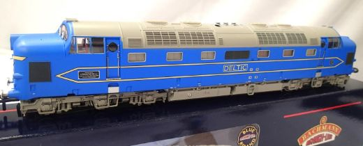 Bachmann 32-520 Deltic, Blue National Railway Museum exclusives, in very near mint condition, boxed.