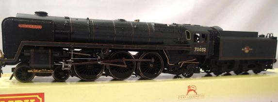 Hornby rename/number 70052, Firth Of Tay, DCC no. 52, detail fitted, wrong box. P&P Group 1 (£14+VAT